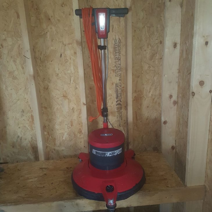 Cleanfix R 53-1100 floor burnisher for sale in Ireland