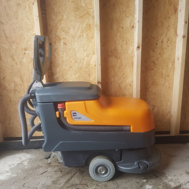 scrubber dryer machine for sale in ireland