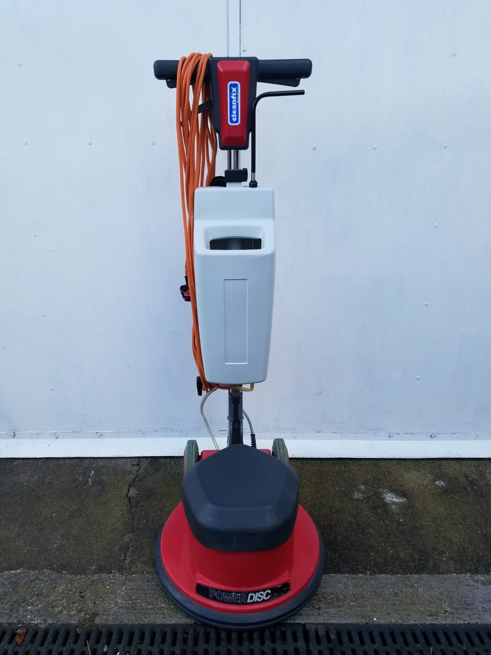 Floor Scubbing Machine – Cleanfix 165 Including Tank