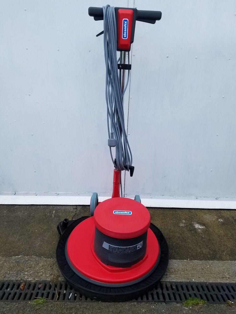 Floor Scrubbing Machine – Cleanfix 165 18″ Including Dust Skirt